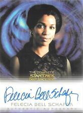 The Complete Star Trek Deep Space Nine Autograph Card A-22 Felecia Bell Schafer