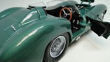 British Sport Race Car Vintage 1950s GT Rare Racing Classic Carousel Green 1 18