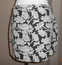 RACHEL ROY Floral Raised Embroidered Wool Brocade Mini Skirt Sz 10 NWT $79