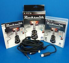 Rocksmith & Real Tone Cable (PS3, Sony Playstation 3, 2012)