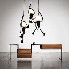 Kitchen Lamp Black Pendant Light Home Ceiling Lights Bar LED Chandelier Lighting
