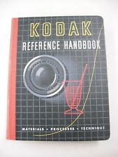 "1951-52 ED ""KODAK REFERENCE HANDBOOK"" WITH TEN DATA BOOKS IN SPIRAL BINDER!"