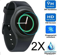 2x Gorilla Glass Screen Protector For Samsung Galaxy Gear S2 R730A R730V R730P