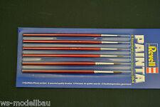 Revell 29621, Painta Standard Pinsel Set mit 6 Pinseln von Größe 00 - 4