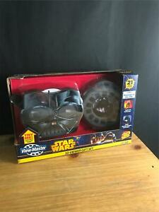 Star Wars View-Master 3D Darth Vader Viewer Gift Set Revenge of the Sith 3 Reels