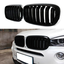 GLOSS BLACK KIDNEY M-STYLE FRONT GRILL FOR BMW X5 F15 X5M F85 X6 F16 X6M F86 NEW