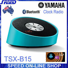 Yamaha TSX-B15 Bluetooth & Clock Radio Speaker – BLUE