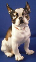 Art Nouveau Meissen Porcelain Bulldog Terrier Figurine Porzellan Hund Figur Dog
