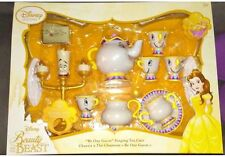 Disney Beauty And The Beast Singing Be Our Guest Tea Party Cart Play Set-NIB