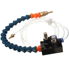 Mist Coolant Lubrication System Unit for 8mm Air Pipe CNC Lathe Milling Drill