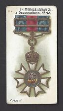 TADDY - BRITISH MEDALS & DECORATIONS (BLUE BACK) - #42 ORDER OF ST MICHAEL