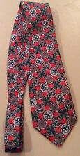 United Colors of Benetton Men's Colorful Geometric Pattern Silk Tie NWT