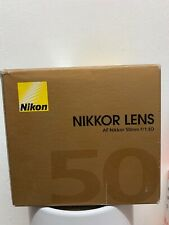 NIKON Nikkor AF 50 mm f/1.8 D Lens