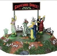 NIB ANIMATED Lemax Spooky Town Graveyard Dance #34601 2013 Halloween RARE