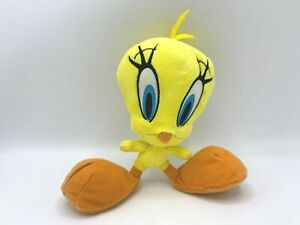"The Looney Tunes Show Tweety Bird Stuffed Plush Toy Yellow 10"" The Bridge Direct"