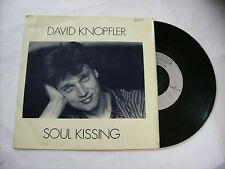 "DAVID KNOPFLER - SOUL KISSING - 7"" VINYL 1983 FRANCE PRESS - VERY GOOD CONDITION"