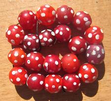 Alte venezianische Glasperlen, Augenp., Old Venetian Glass Beads, Eye Beads