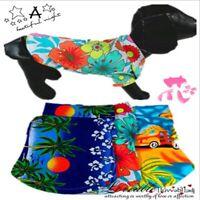 Summer Beach Small Dog Puppy Vest T-Shirt Pet Dog Cat Clothes Apparel Costumes