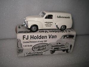1/43 MATCHBOX 1956 HOLDEN FJ PANEL VAN COLLECTORMANIA COLLECTORS MODEL CODE 3