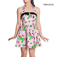 HELL BUNNY Party HEART ZOMBIES Pink DRESS Mini Emo All Sizes