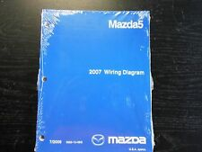 2007 MAZDA5 WIRING DIAGRAM Workshop Service Repair Shop Manual NEW 07