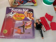 Remco karate kid kreese with break away wall complete with package scroll