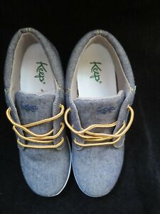 Keep Vegan Cruelty Free Mens Canvas Mid-Top Shoes/Trainers - New in Box - 7.5