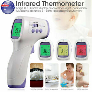 LCD Digital Smart Infared Forehead Thermometer Gun Fever Temperature Measurement