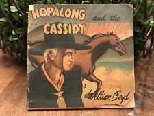 Hopalong Cassidy And The Stampede Small Story Paper Book William Boyd Vintage