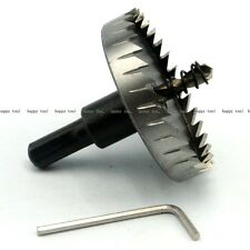 60 Mm HSS Metal Drill Bit Hole Saw Drilling Stainless Steel Alloy Pro Tool NEW