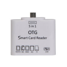 For Samsung Galaxy S6 Xiaomi 2S 5in1 OTG Micro USB SD/TF Card Reader Connection