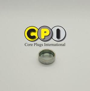 19mm Cup Freeze core plug - CR4 Zinc Plating - British Steel BS1449
