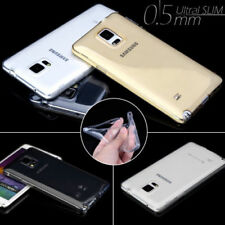 Unbranded/Generic Plain Silicone/Gel/Rubber Mobile Phone Cases, Covers & Skins for Samsung Galaxy Note 4
