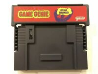 Game Genie Video Game Enhancer for SNES / Super Nintendo  TESTED FREE SHIPPING