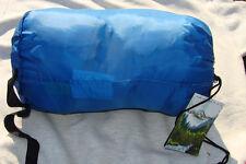 Lucky Bums Compact Lightweight Muir Spring Summer Fall Sleeping Bag Youth BLUE
