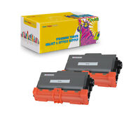 2Pcs Compatible TN750 Toner Cartridge for Brother HL-5450 5470 6180 MFC 8510