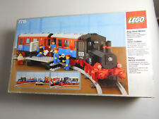 Lego® Eisenbahn Set 12V 7715 mit Box ,Ba und Sticker guter Zustand