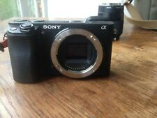 Sony Alpha 6300 24,2 Mp Appareil Photo Numérique,4K,AF Ultra-Rapide,Boîtier Nu