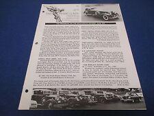 The Flying Lady Rolls-Royce, Magazine April 1965, 1933 Phantom II 243AJS Bennett