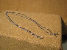 ███►uralte lange Taschenuhrkette/800er Silber um 1900 (15.12.14)