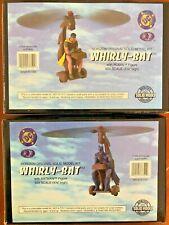 "Horizon Solid Model Whirly-Bat Set of 2 Batman & Robin 1/24 Scale (3 1/4"" high)"