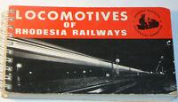 VTG 'LOCOMOTIVES OF RHODESIA RAILWAYS' 1970 BOOK! PICTURES & SPECS! POCKET SIZE!