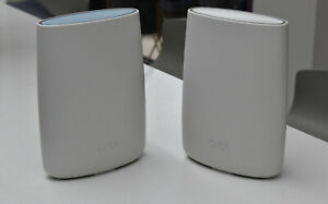 NETGEAR Orbi AC3000 1733 Mbps Wireless AC Router RBK50-100UKS with satellite