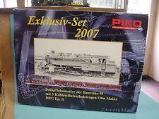 Piko 58108 Exklusiv-Set 2007 BR 95 + 5 Kohleselbstentladungswagen DRG /TOP+OVP