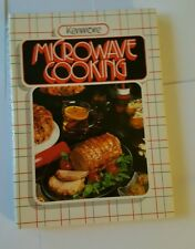 1984 Kenmore Microwave Cooking Sears Spiral Hardcover Color