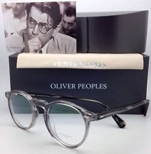 New OLIVER PEOPLES Eyeglasses GREGORY PECK OV 5186 1484 47-23 Round Workman Grey
