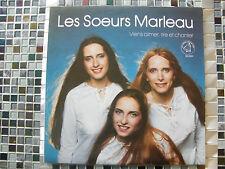 """LP LES SOEURS MARLEAU """"Viens aimer,rire et chanter"""" Les disques sons d'or enrg."""