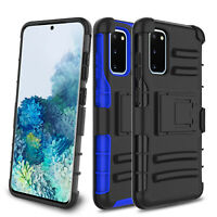 For Samsung Galaxy S20 FE 5G Case Shockproof Kickstand Belt Clip Holster Cover