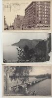 Vintage Black and White Postcards Circa 1800's-1900's Lot of 5 +