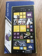 Excellent A1 Condition Nokia Lumia 1520 32GB Yellow Unlocked Smartphone